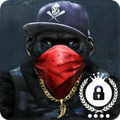 Swag Monkey Hipster Hd Wallpaper Screeen Lock For Android