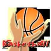 Basketball shoot free icon
