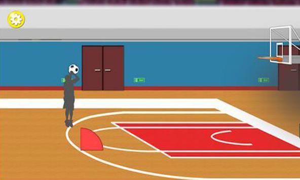 Basketball shoot free apk screenshot