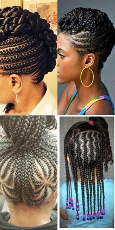 Straight Up Braids Beautified Hairstyles For Android Apk Download