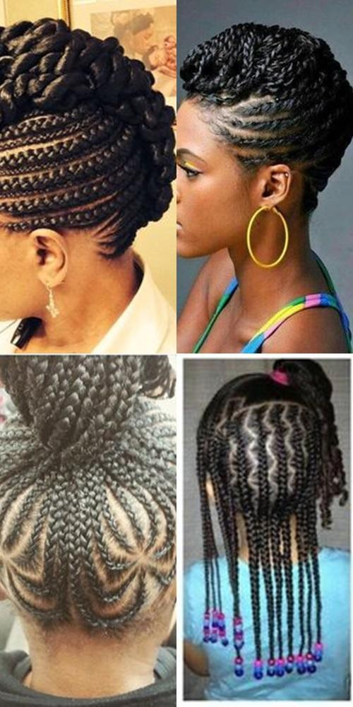 Straight Up Braids Beautified Hairstyles For Android Apk