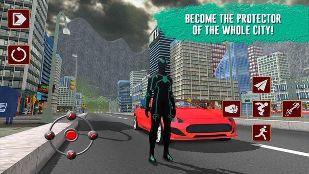 Strange Battle Spider Hero 3D poster