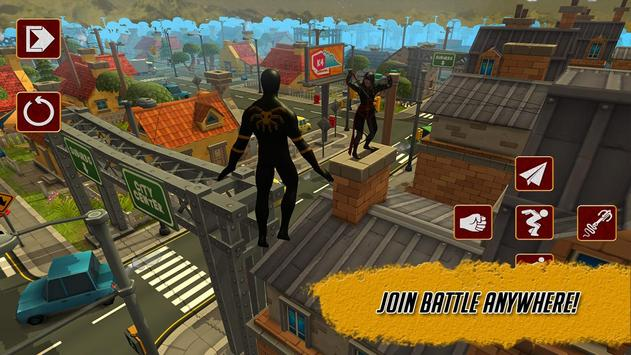 Strange Hero: Assassin Spider apk screenshot