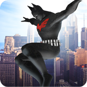 Strange Hero Bat Battle 3D icon