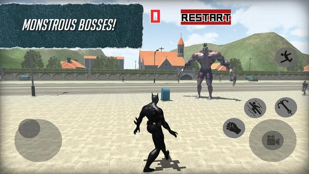 Strange Hero Bat Battle 3D apk screenshot
