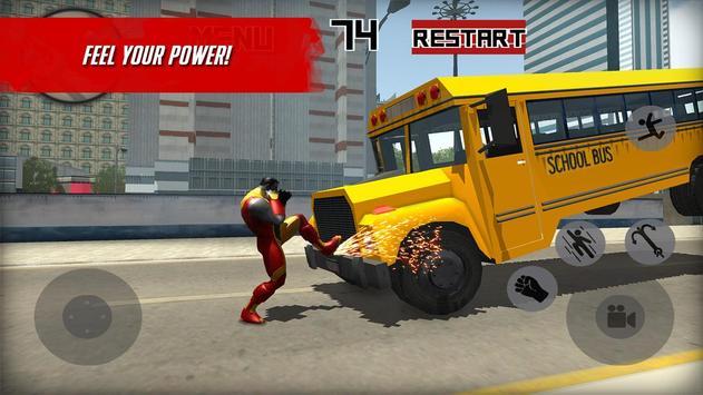 Strange X-Hero Battle 3D screenshot 1