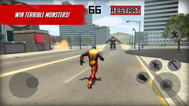 Strange X-Hero Battle 3D screenshot 2