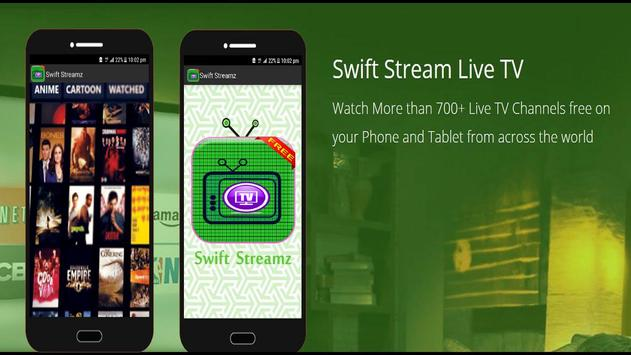 Swift Stream-Tutor Swift Streamz 2018 apk screenshot