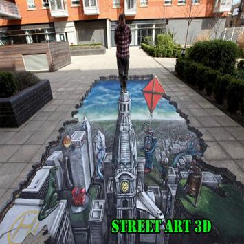 Street Art 3D poster