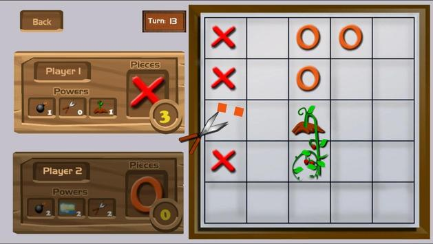 Tictactoe Superpowers - free game. Play now! screenshot 2