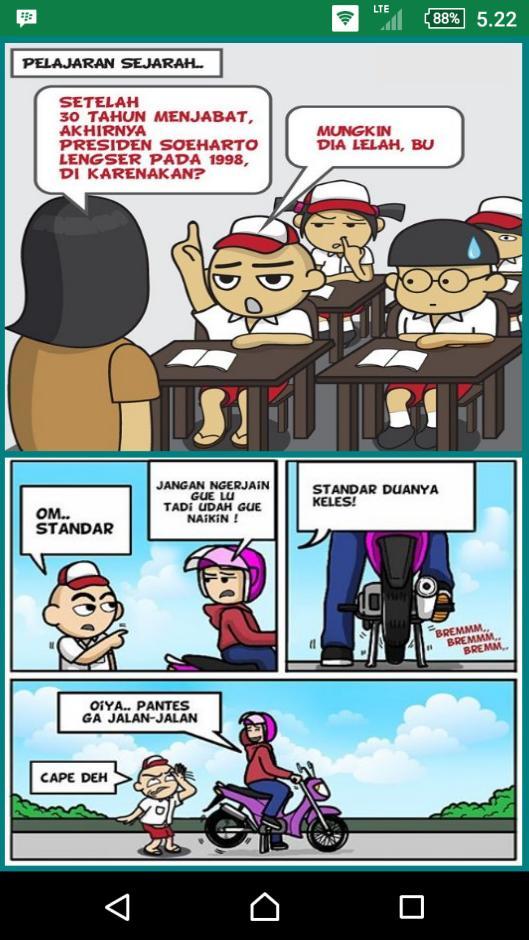 Komik Strip Lucu Dan Gokil Cerita Lucu For Android Apk Download