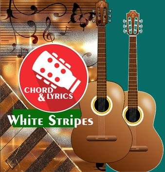 Guitar Chord The White Stripes poster