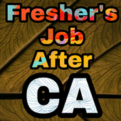 Freshers Job After CA icon