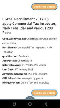 Government Job in Chhattisgarh screenshot 3