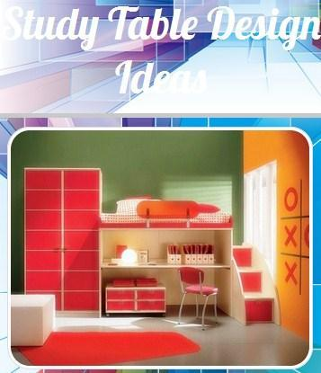 Study Table Design Ideas poster