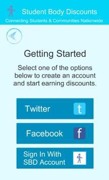 Student Body Discounts screenshot 1