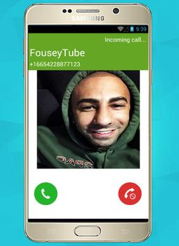 FouseyTube call prank poster