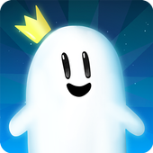 Ghost Game - Dig your way through the clouds! icon