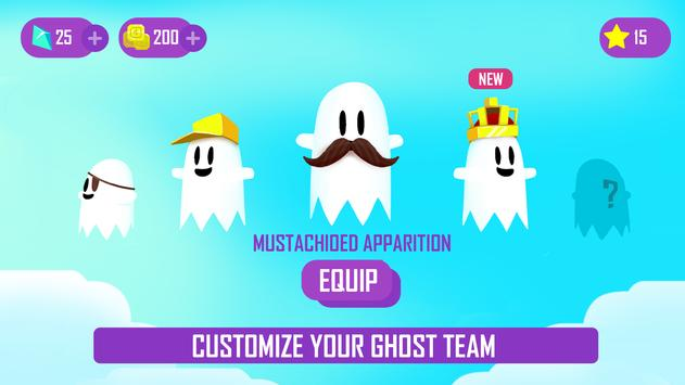 Ghost Game - Dig your way through the clouds! screenshot 3