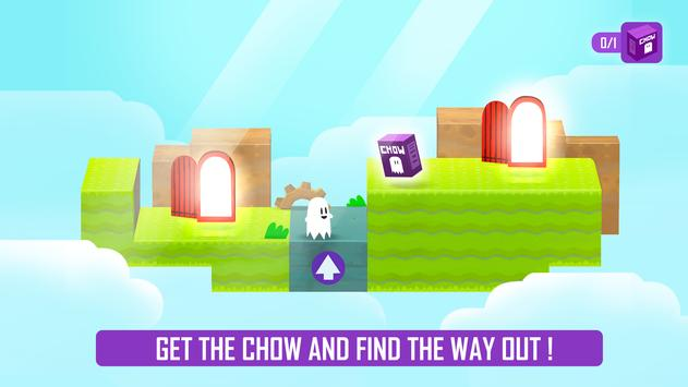 Ghost Game - Dig your way through the clouds! poster