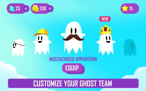 Ghost Game - Dig your way through the clouds! screenshot 8