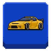 Pixel Car Racer 圖標