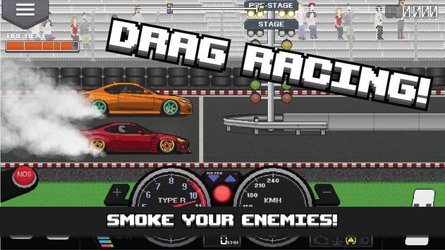 Pixel Car Racer 海報