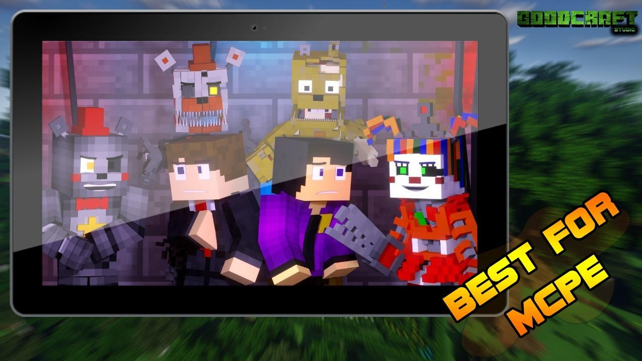 FNAF Ultra Mod Pack For MCPE for Android - APK Download