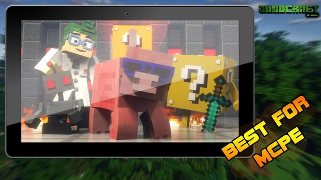 Lucky Block Challenge Ultra Pack for MCPE screenshot 8
