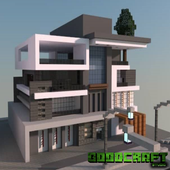 Mansion Modern Ultra Creation Map Pack for MCPE icon