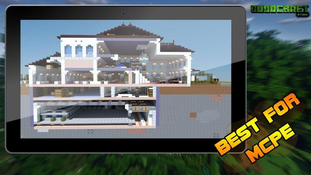 Mansion Modern Ultra Creation Map Pack for MCPE screenshot 4