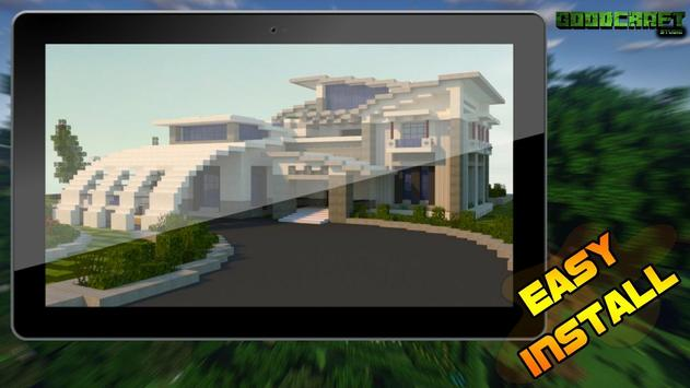 Mansion Modern Ultra Creation Map Pack for MCPE screenshot 6