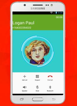 Call Logan Paul Prank 🌟5 apk screenshot
