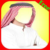 Arab Man Photo Maker Editor icon