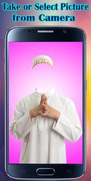 Arab Man Photo Maker Editor poster