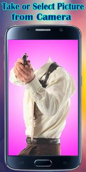 Gangster Fashion Photo Suit poster