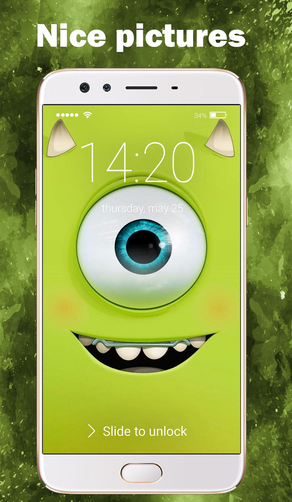 Monsters Inc Arts Wallpapers Lock Screen For Android APK