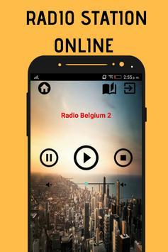 Radio Belgium 2 App Station Free Music Online screenshot 3