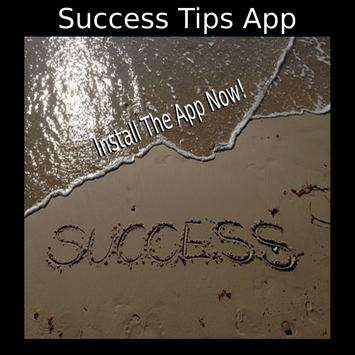 Success Tips - How To Be Successful Tips poster
