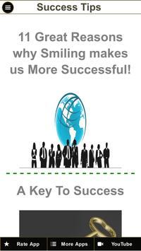 Success Tips - How To Be Successful Tips apk screenshot