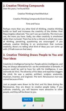 Successful People Think? apk screenshot