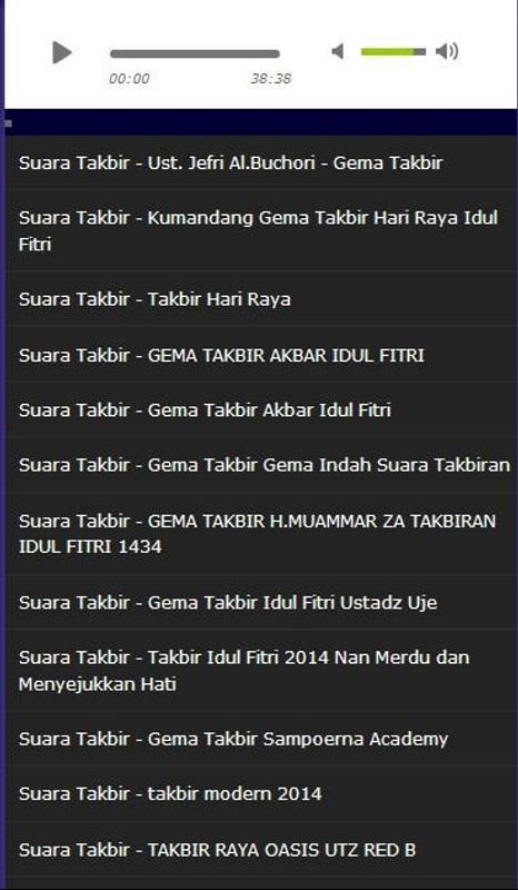 Download Takbiran Muamar Za