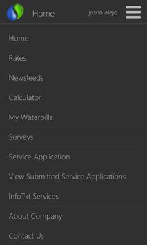 Subicwater Online Service apk screenshot