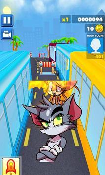 سوبيواي سورف توم و جيري subway jerray and cat Tom screenshot 2