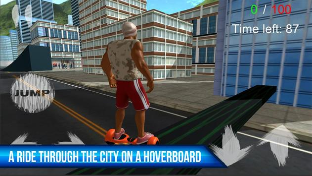 Subway Hoverboard PRO poster