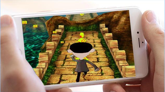 Subway Mr Temple Bean Run screenshot 1