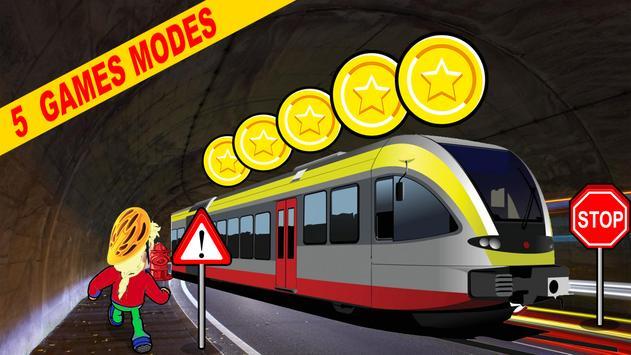 Subway Train London Game apk screenshot