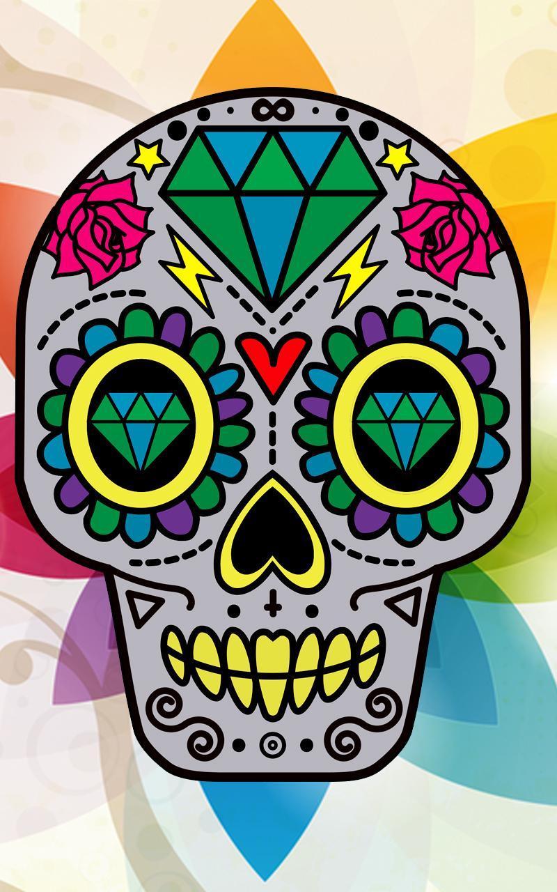 Sugar Skull Wallpaper For Android Apk Download