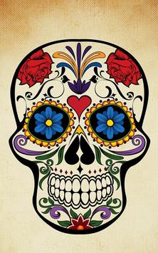 Sugar Skull Wallpaper Apk Screenshot