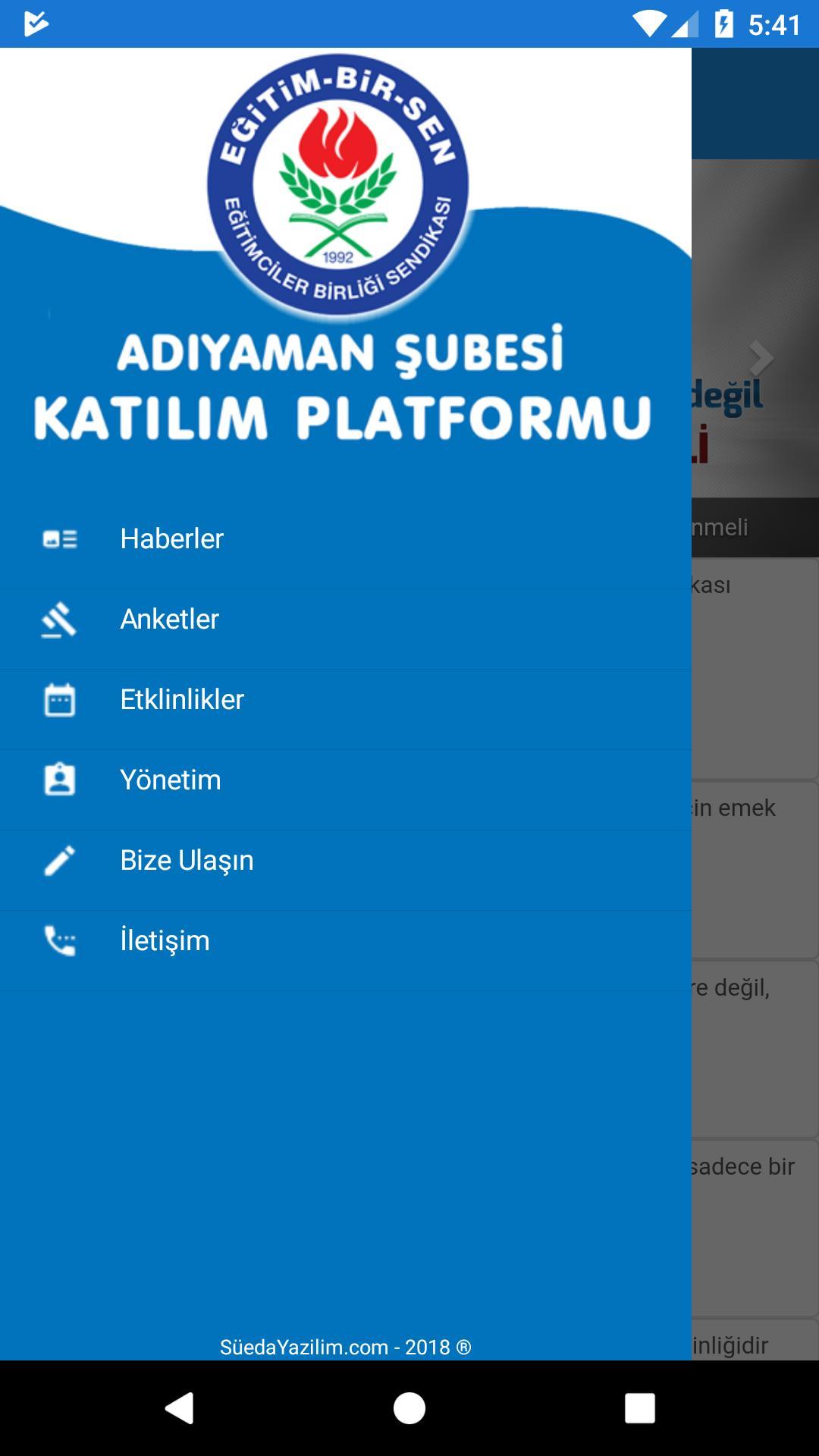 EBS Adıyaman Katılım Platformu poster